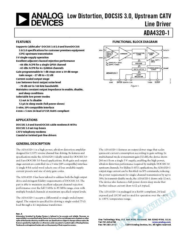 ADA4320-1