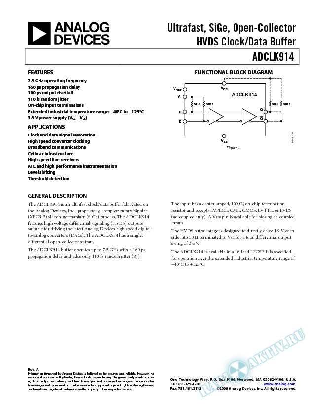 ADCLK914