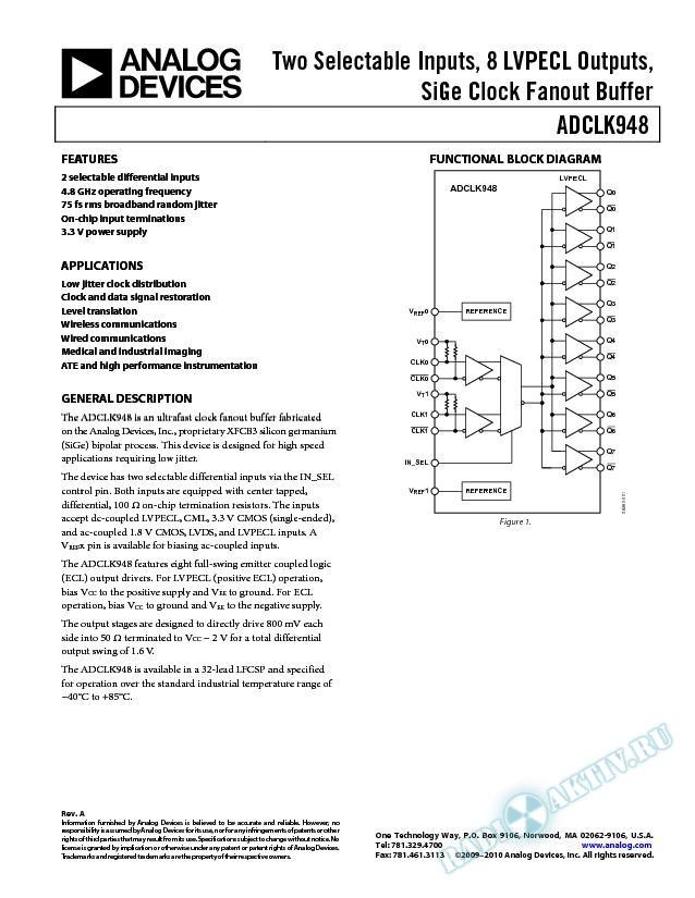 ADCLK948