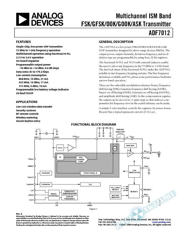 ADF7012