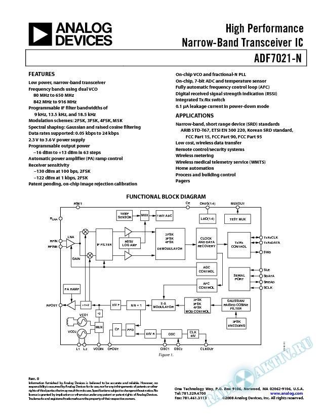 ADF7021-N