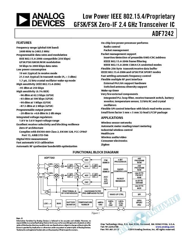 ADF7242
