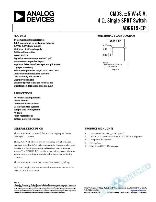 ADG619-EP