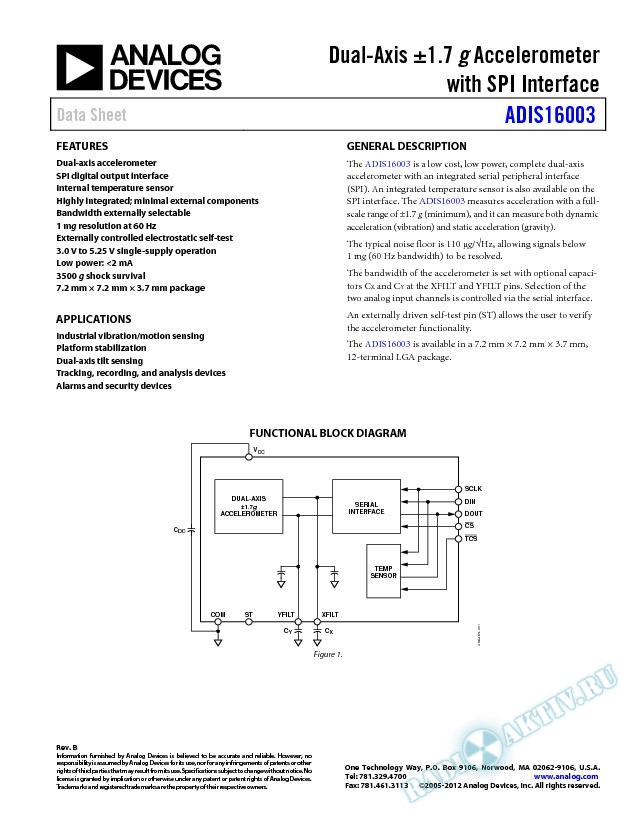 ADIS16003