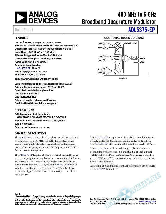 ADL5375-EP