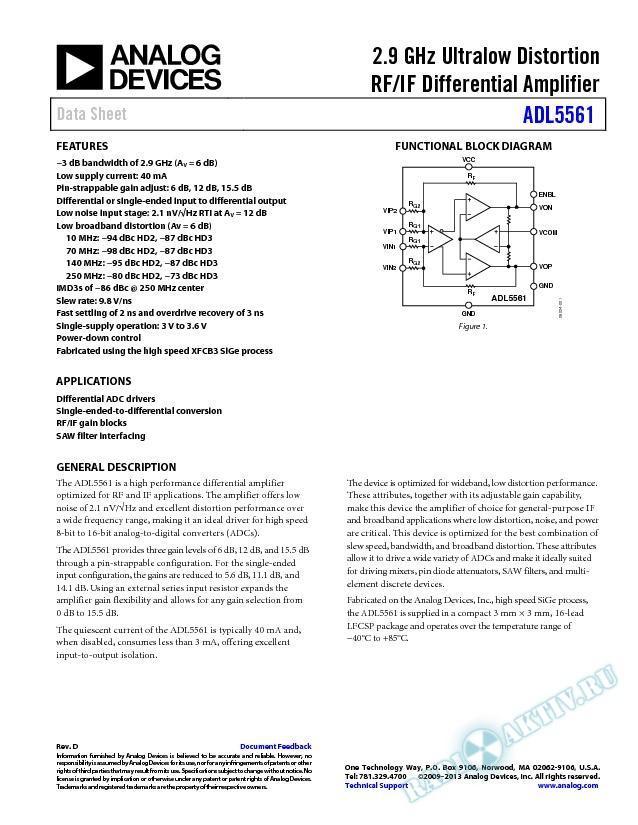 ADL5561