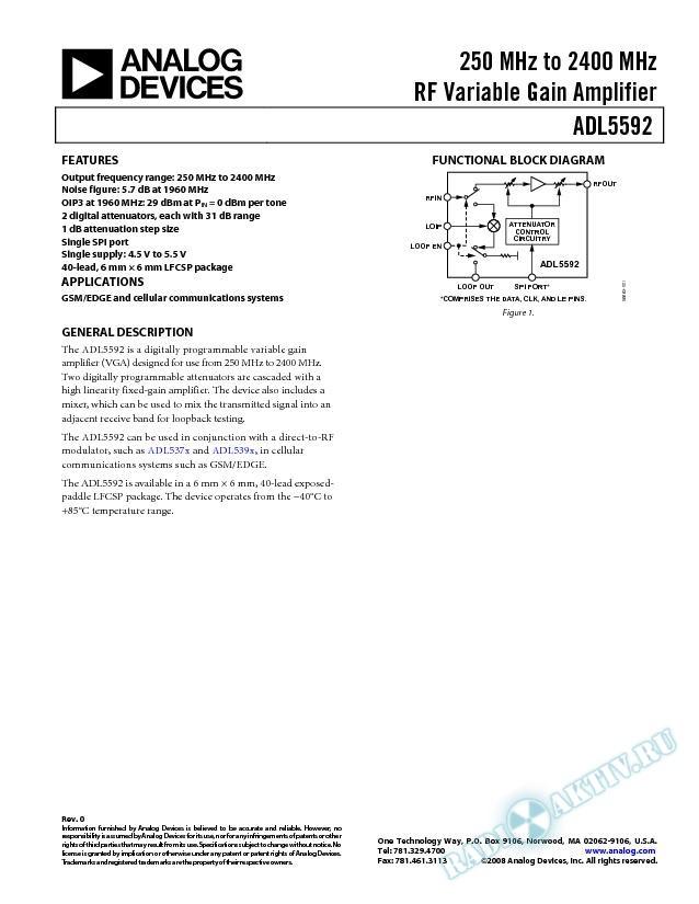 ADL5592