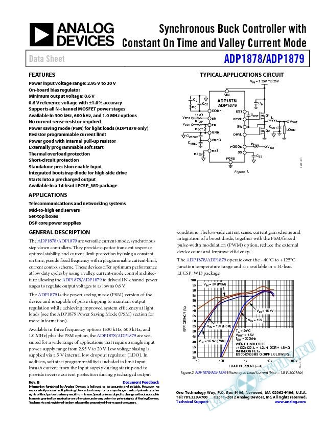 ADP1878/ADP1879