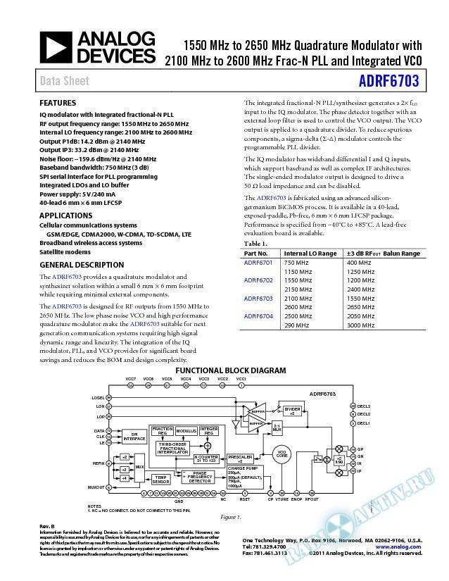 ADRF6703