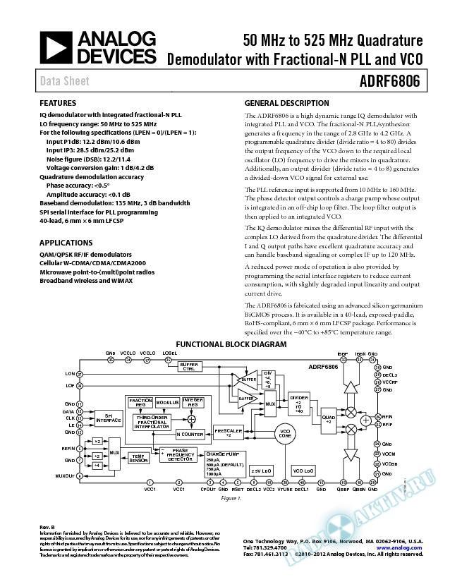 ADRF6806