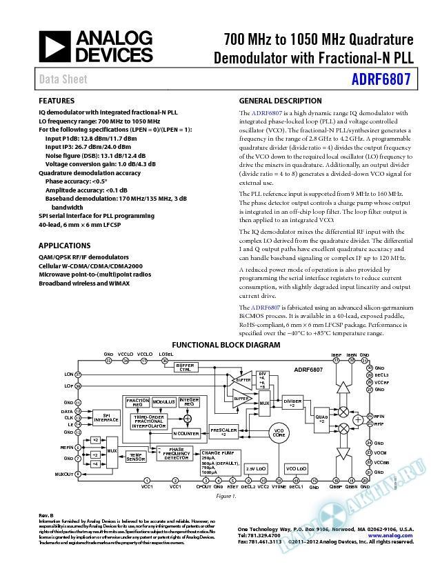 ADRF6807