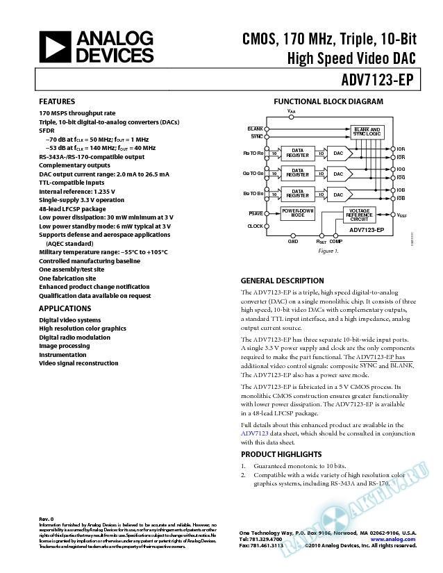 ADV7123-EP