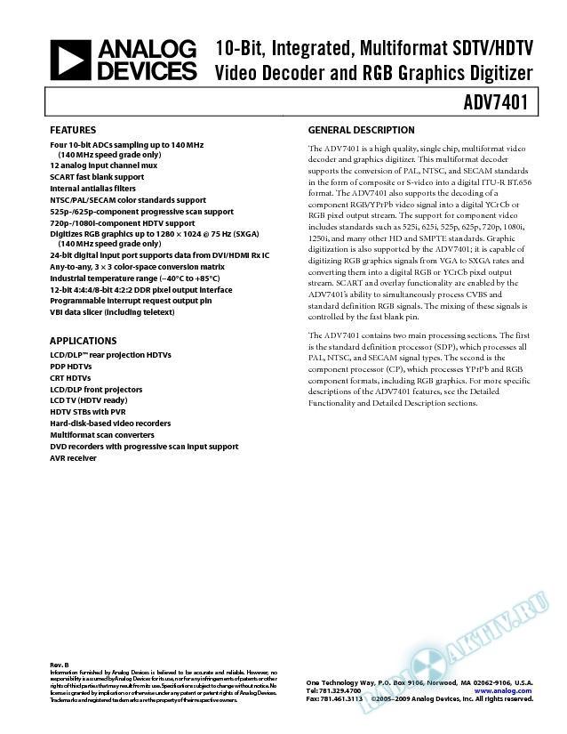 ADV7401