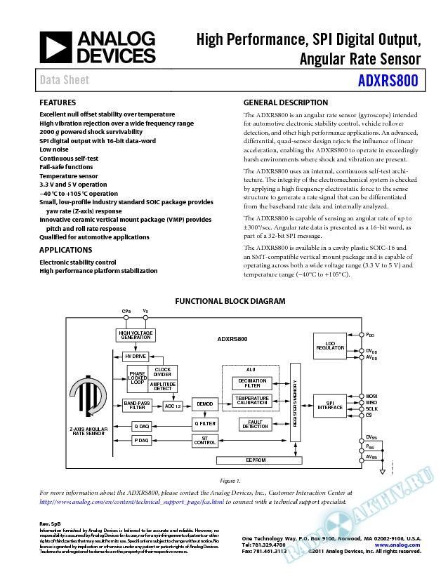 ADXRS800