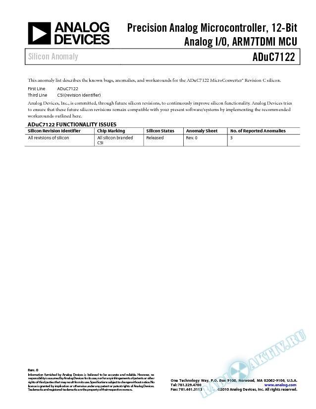 ADuC7122