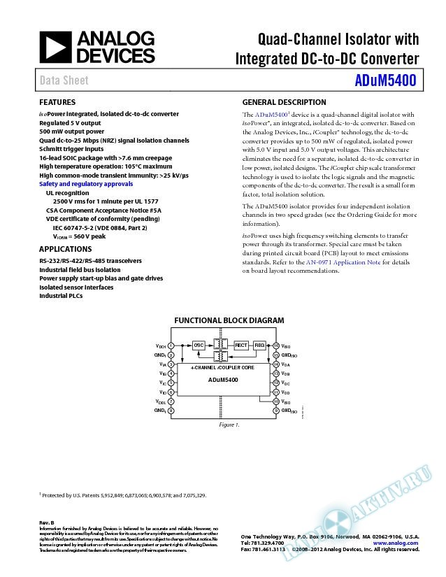 ADuM5400
