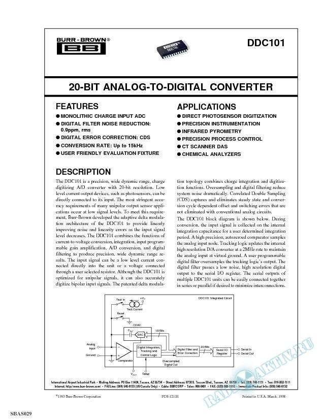 20-Bit Analog-to-Digital Converter