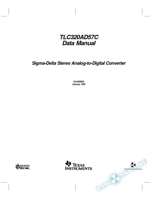 Sigma-Delta Stereo Analog-to-Digital Converter (Rev. A)