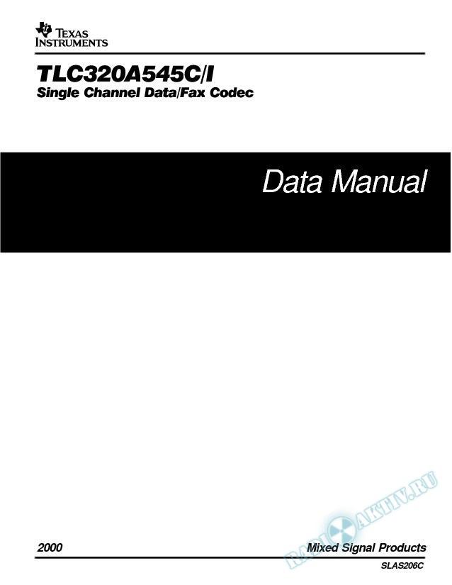 Single Channel Data/Fax Codec (Rev. C)