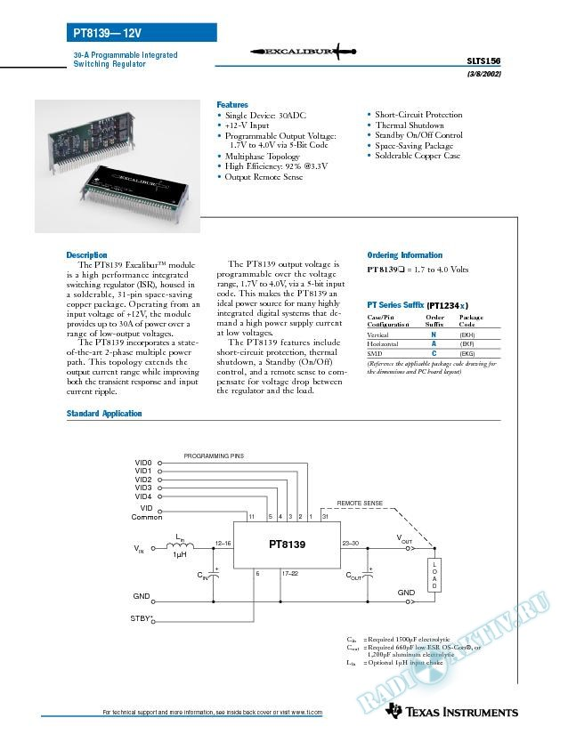 30-A Programmable Integrated Switching Regulator