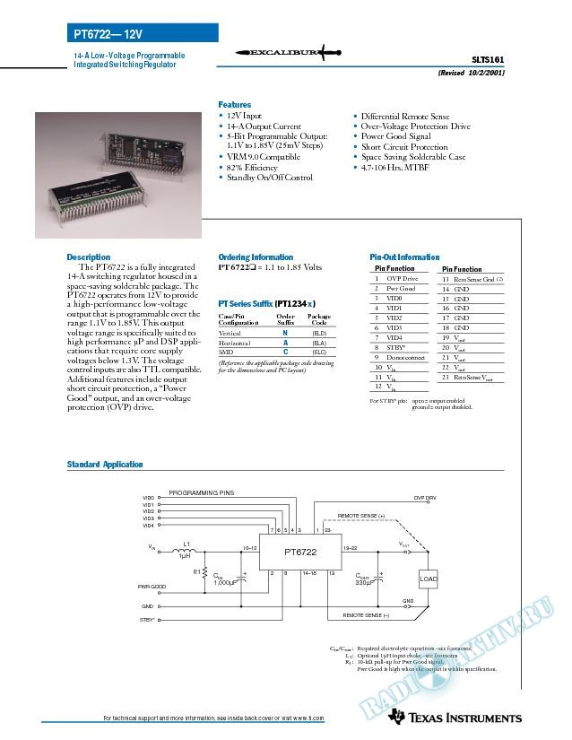 13-A 12 V-Input Low-Voltage Programmable ISR