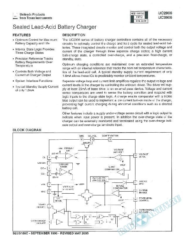 Sealed Lead-Acid Battery Charger (Rev. C)