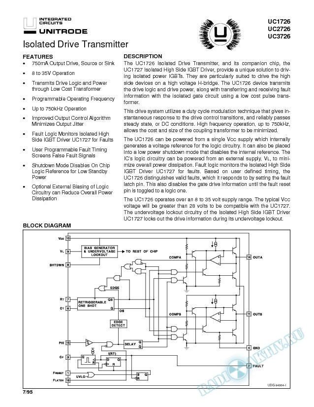 Isolated Drive Transmitter