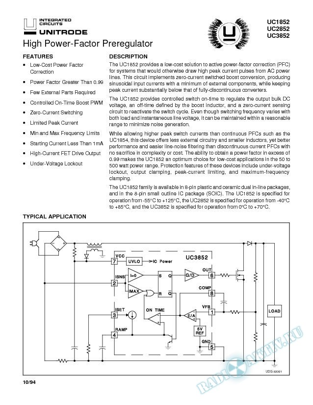 High Power-Factor Preregulator