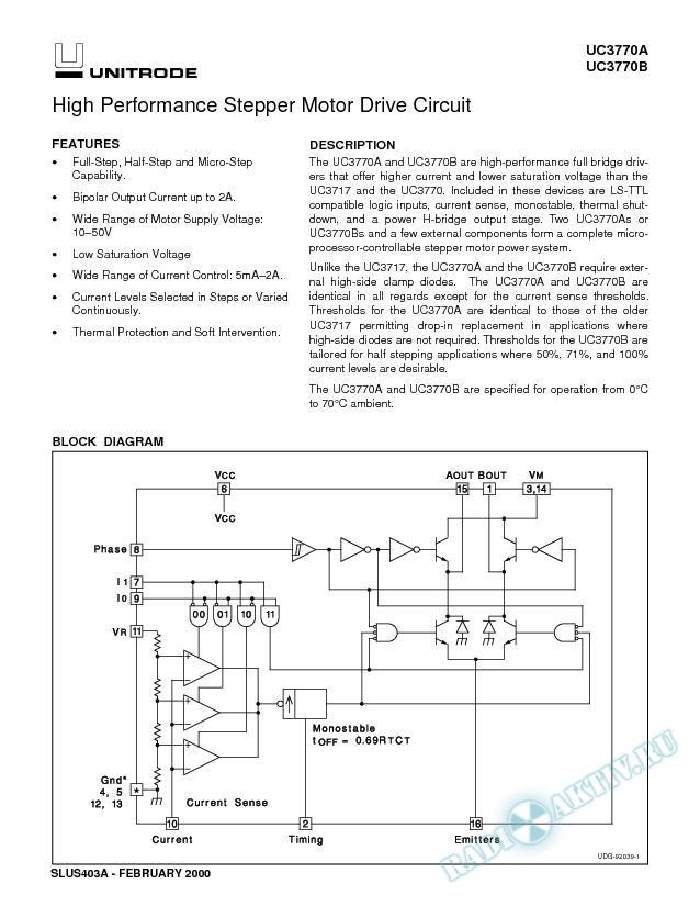 High Performance Stepper Motor Drive Circuit (Rev. A)