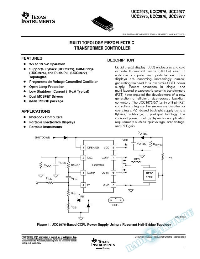 Multi-topology Piezoelectric (Rev. A)