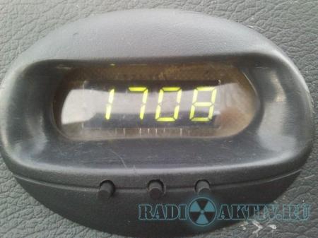Часы, вольтметр и термометр для автомобиля на AtMega8