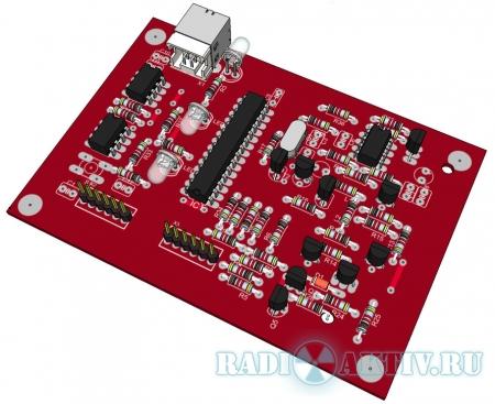 USB программатор PIC-контроллеров (клон PICkit 2)