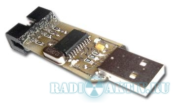 USBTiny - миниатюрный USB программатор AVR микроконтроллеров