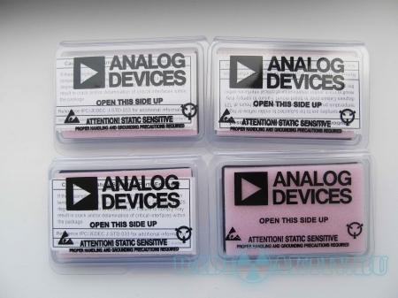 Бесплатные микросхемы от Analog Devices