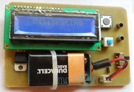 Цифровой LC-метр на PIC16F628