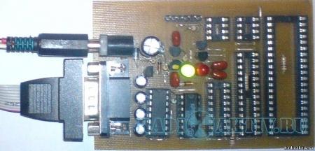 Программатор PIC контроллеров и I2C (IIC) EEPROM EXTRAPIC