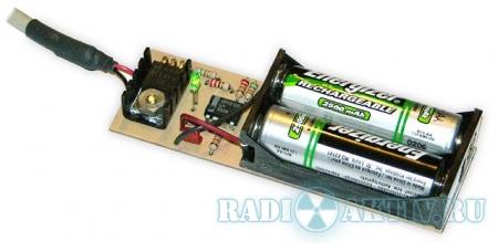 USB зарядное устройство для NiCd/NiMH аккумуляторов