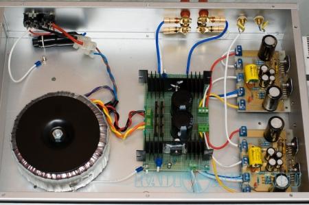 Стерео усилитель мощности 100Вт на LM3886