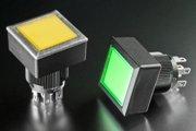 NKK Switches представляет нажимные кнопки для панелей с уплотнением размером 24 мм и степенью защиты IP65