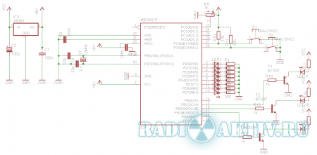 RGB контроллер на AtMega8