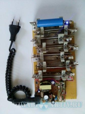 Зарядное устройство Li-ion аккумуляторов