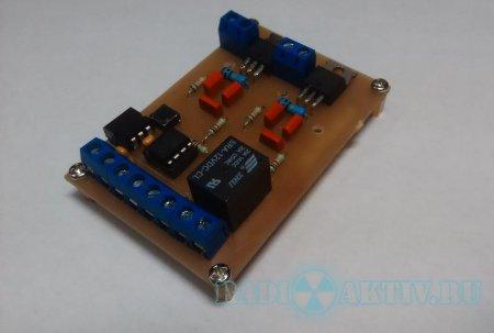 Двухканальный ШИМ регулятор мощности на AtTiny 13