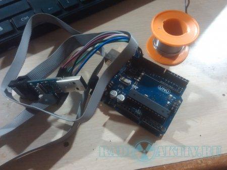 Если arduino не переходит в режим DFU