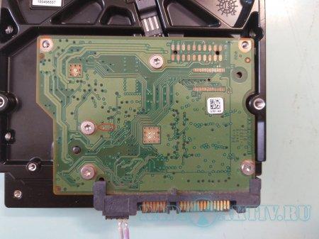 Восстановление Seagate ST500DM002