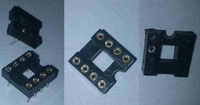 Универсальный шлейф для программатора AVR910 + стикеры на микроконтроллеры