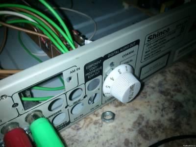 Шестиканальный переменный резистор из трёх сдвоенных
