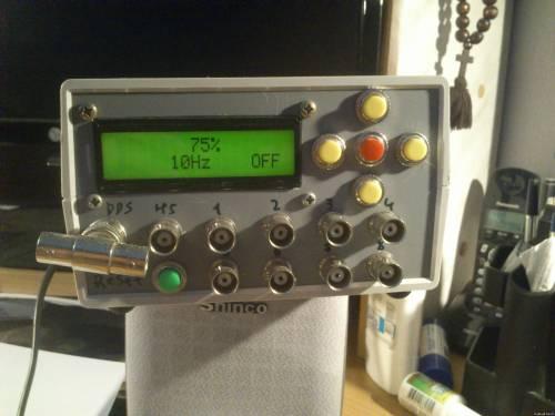 Дипломный проект на тему: Устройство формирования входных сигналов при испытании 16-ти разрядных микроконтроллеров