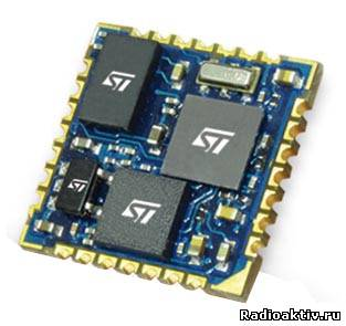 Миниатюрный 9-осевой инерциальный модуль STMicroelectronics сделает мир компьютерных игр, робототехники и навигации еще реалистичнее