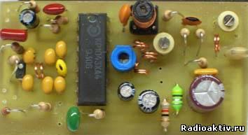 Высококачественный передатчик видеосигнала на КР1043ХА4
