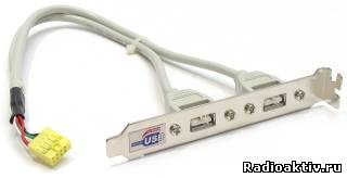 Распиновка USB разъема на материнской плате